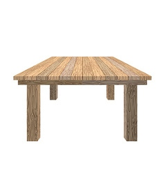 Wooden table Tabletop wood texture Old desk on vector image