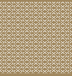 gold geometric seamless pattern in asian style vector image vector image
