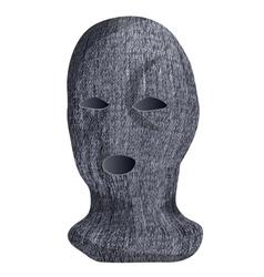 ski mask vector image vector image
