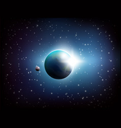 dark space background vector image