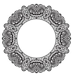 Abstract ornate frame Element for design vector