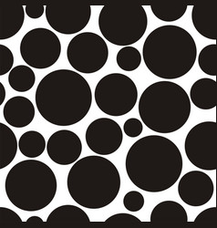 abstract pattern with circles vector image