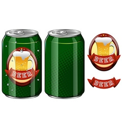 Beer and product design vector