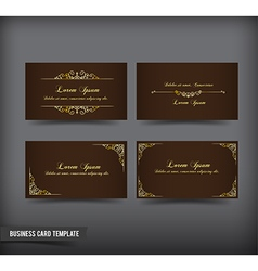 Business Card template set 59 vector image