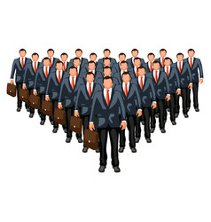 business crowd2 vector image