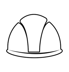 constrcution tool helmet graphic vector image