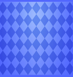 cool blue argyle seamless pattern vector image