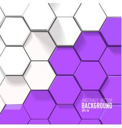 geometric bright background vector image