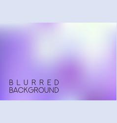 Horizontal wide purple blurred background vector
