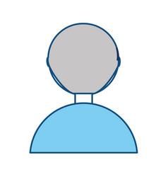 man back cartoon vector image