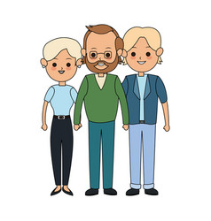 People or family members icon image vector