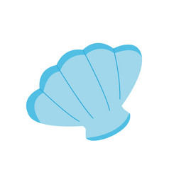 sea shell icon on white background for graphic and vector image