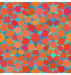 Seamless Tessellation Star Mosaic Red Blue vector