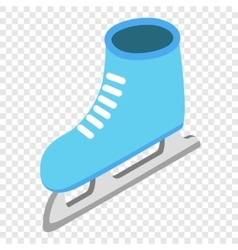 Skates isometric 3d icon vector image