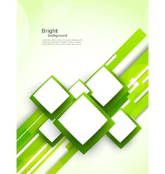 Background with squares and lines vector image vector image