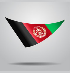Afghanistan flag background vector