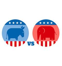 American political parties vector