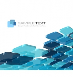 blue composition vector image