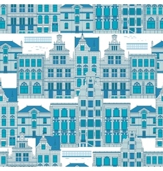 Blue Old City vector