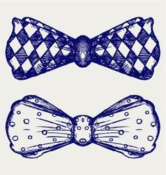 Bow-tie vector