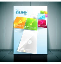 Business Flayer Template vector image