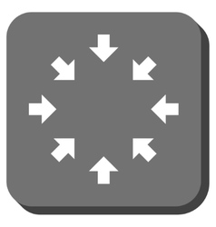 Compact Arrows Rounded Square Icon vector
