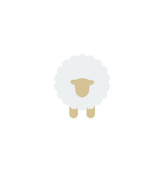 Flat icon sheep element of vector