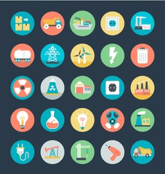 Industrial Icons 1 vector