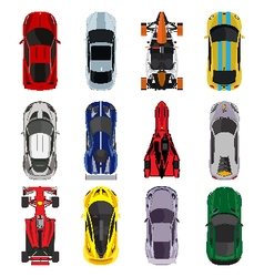 Sport and racing cars vector