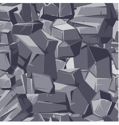 stone gray seamless texture vector image