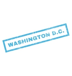 Washington DC Rubber Stamp vector