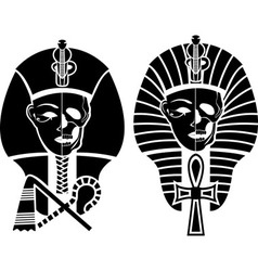 Egyptian symbol of death vector image vector image