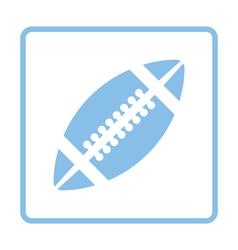 American football icon vector image