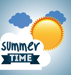 best summer design vector image