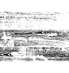 Wood texture white and black vector image