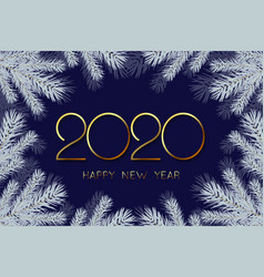 2020 new year background vector