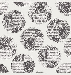 black and white seamless abstract grunge texture vector image