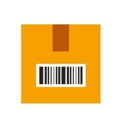 Box carton container isolated icon vector