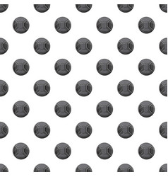 Cover on lens camera pattern vector