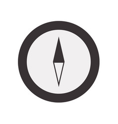 Cute chronometer symbol icon vector
