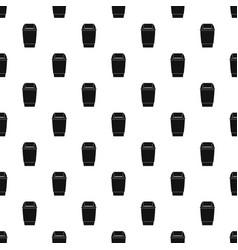 Flip lid bin pattern vector