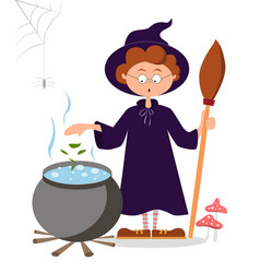 magician potion conjures vector image