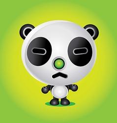 panda character vector image