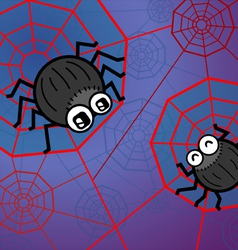 Spider funny vector image vector image