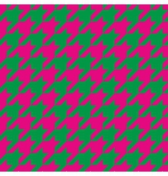 Houndstooth seamless pattern or tile background vector image vector image