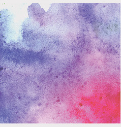 abstract watercolor background hand drawn vector image