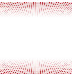 Banner made red grids and light vector