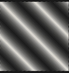 Halftone seamless pattern monochrome background vector