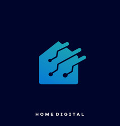 home business real estate template vector image