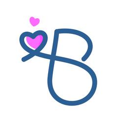 Initial b mono-line love vector